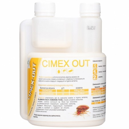 Cimex Out 0,5l TWIN