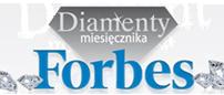 Wyróżnienie - diamenty miesięcznika Forbes